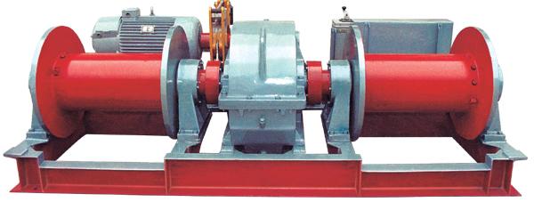卷扬机      型号 2jk-3吨 2jk-5吨 绳额不定拉力(千牛) 30 50 钢丝绳